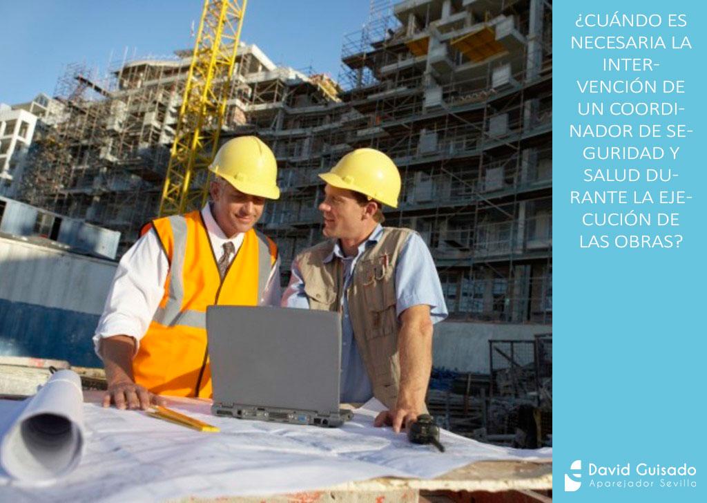 Cu ndo es necesaria la intervenci n de un coordinador de for Licencia de obras cuando es necesaria